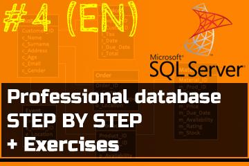 SQL Server MsSQL T-SQL Course Online Database SSMS Microsoft Andrzej Śmigielski